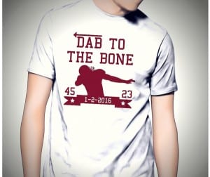 Dab to the bone finished