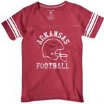 Razorback girls shirt V-neck College Kids