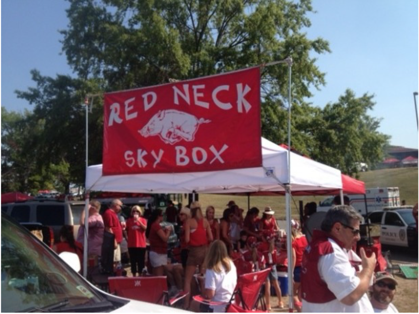 Arkansas tailgating